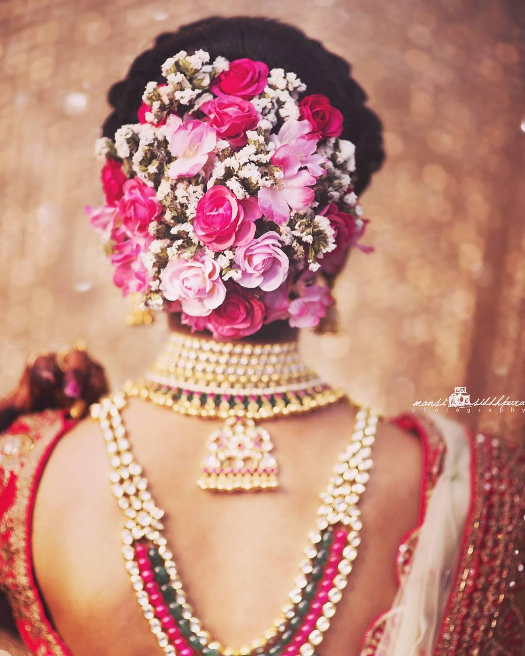 Bridal Makeup, Bridal Makeup Trends, Makeup, Makeup Trends, Makeup Trends 2018, Bridal Hair, Bridal Hairdo, Bridal Hairstyle, Bridal Hair Trends
