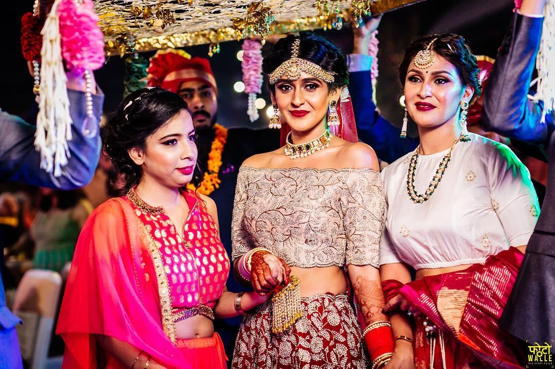 Bridal Blouse, Blouse Design, Bridal Blouse Design, Choli Design, Bridal Choli Design, Bridal Outfit, Bridal Fashion, Off Shoulder Blouse, Blogger Bride, Shreya Kalra Blogger