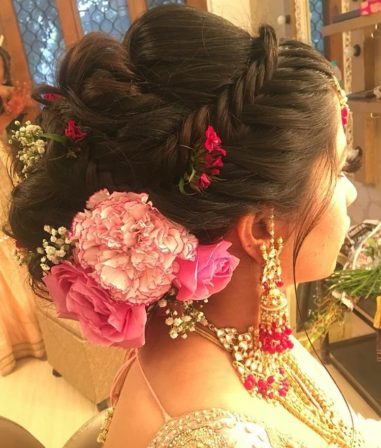 11 Hottest Indian Bridal Hairstyles To Make You Look Like A Diva At