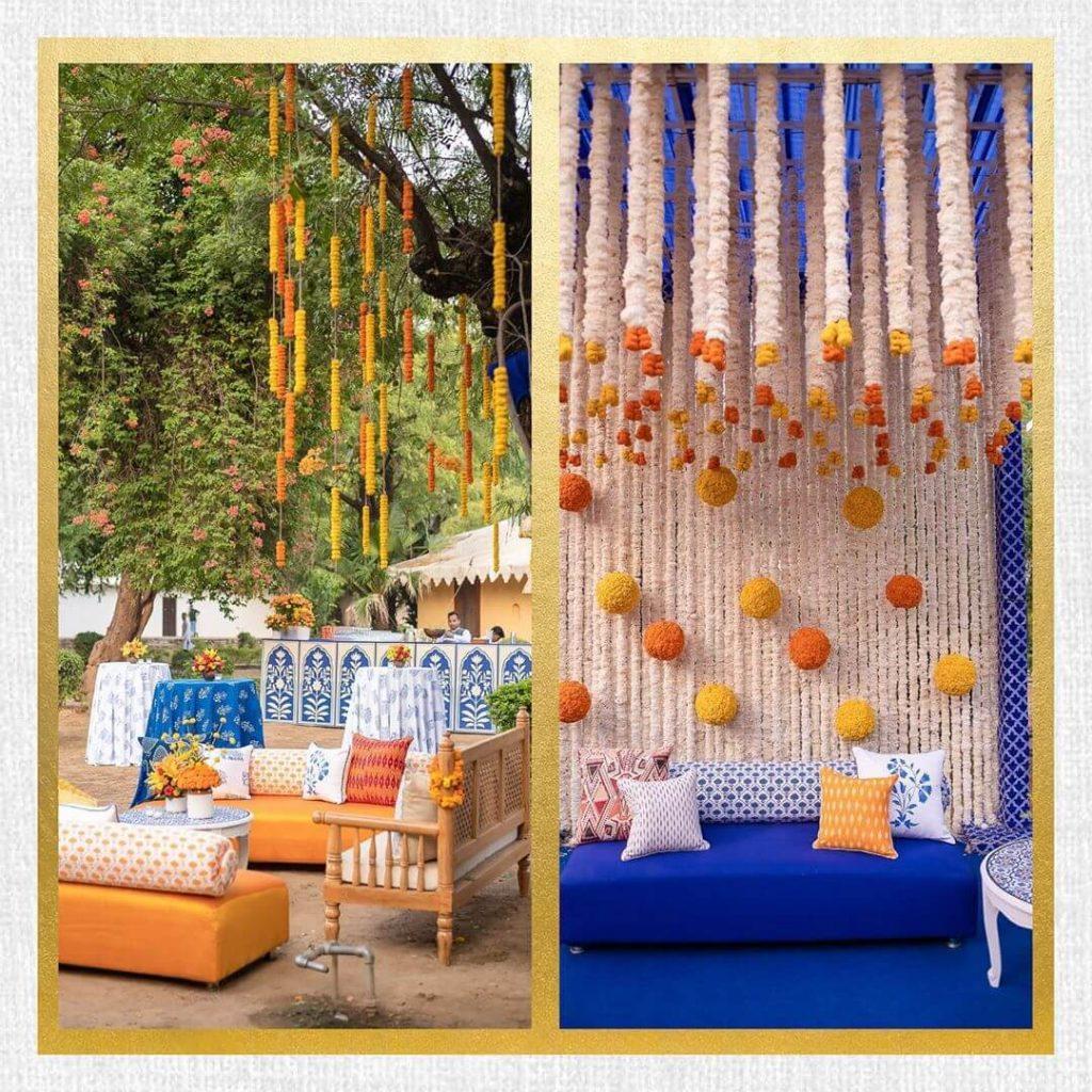 women wedding decorators in India