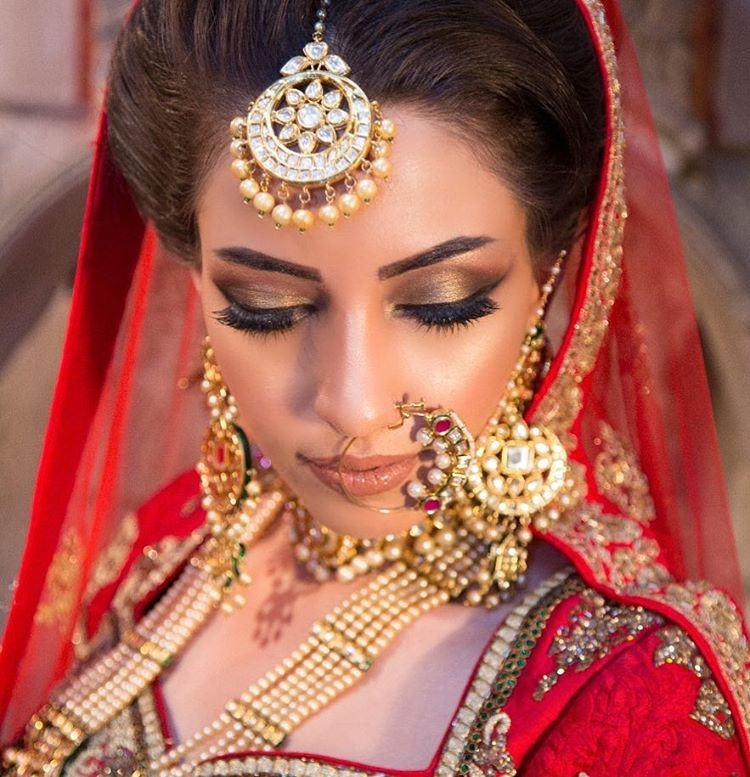 bridal makeup, Indian bridal makeup