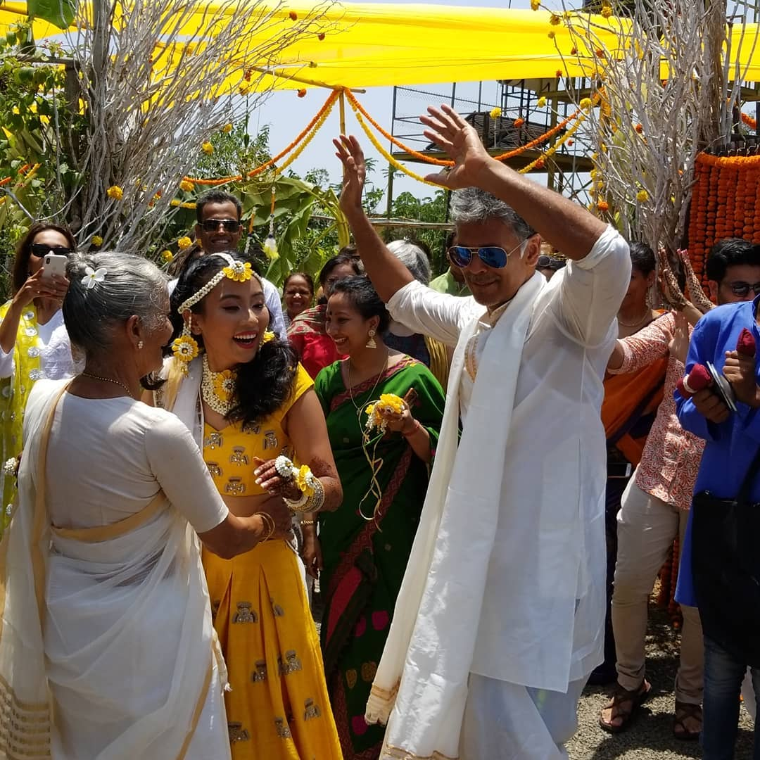 ankita and milind wedding, milind soman wedding