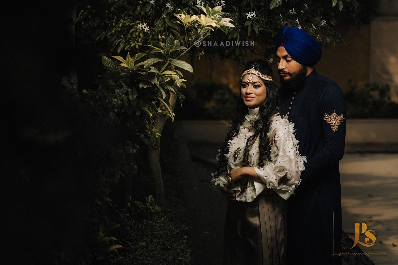 unique pre wedding shoot, pre wedding shoot locations in Punjab, romantic pre wedding shoot