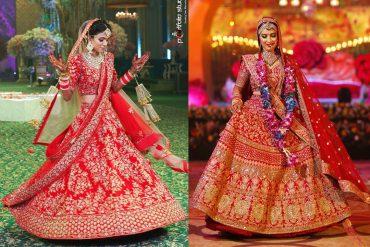 bridal lehenga, Sunehree Chandni Chowk