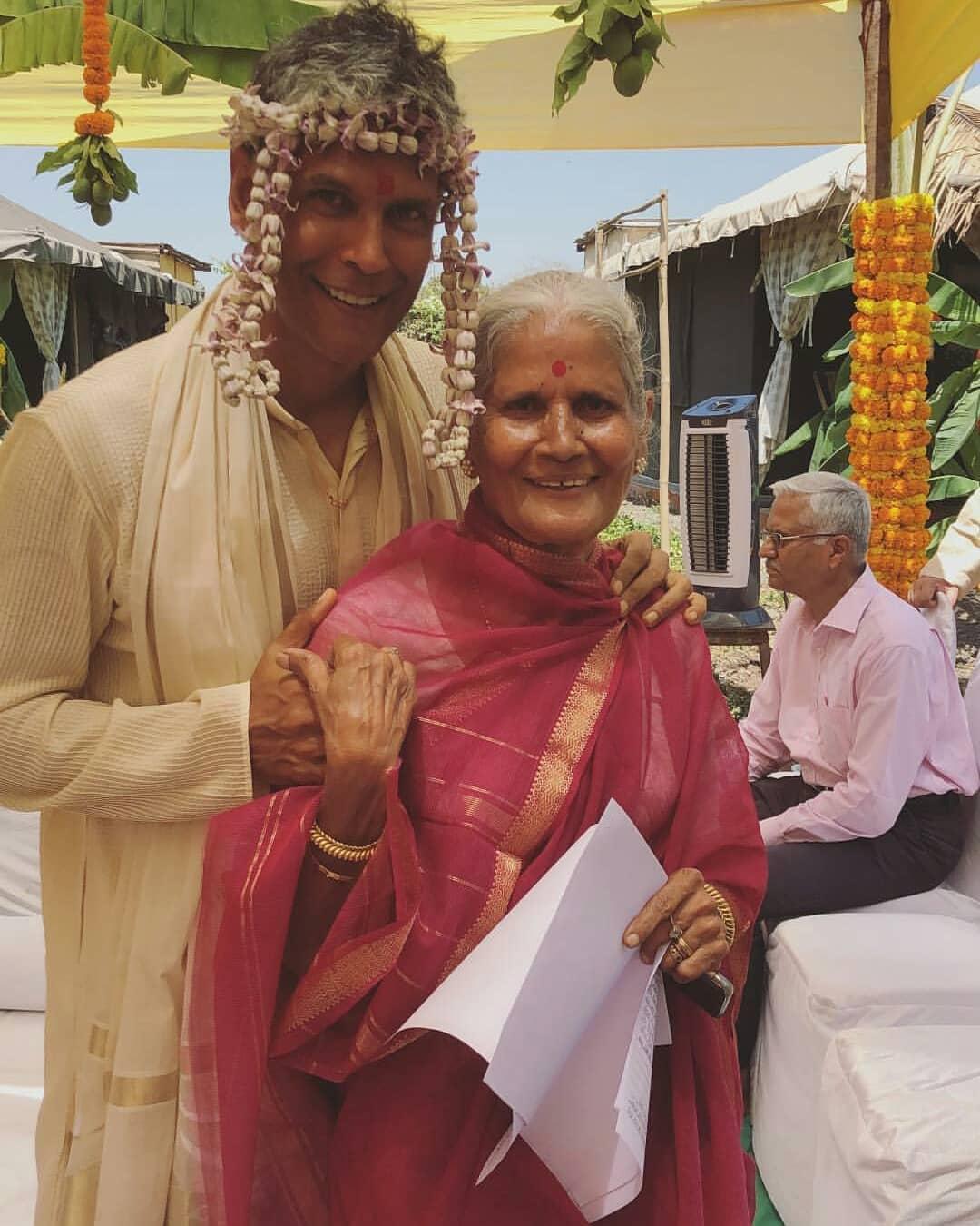 milind soman and ankita konwar, milind soman wedding