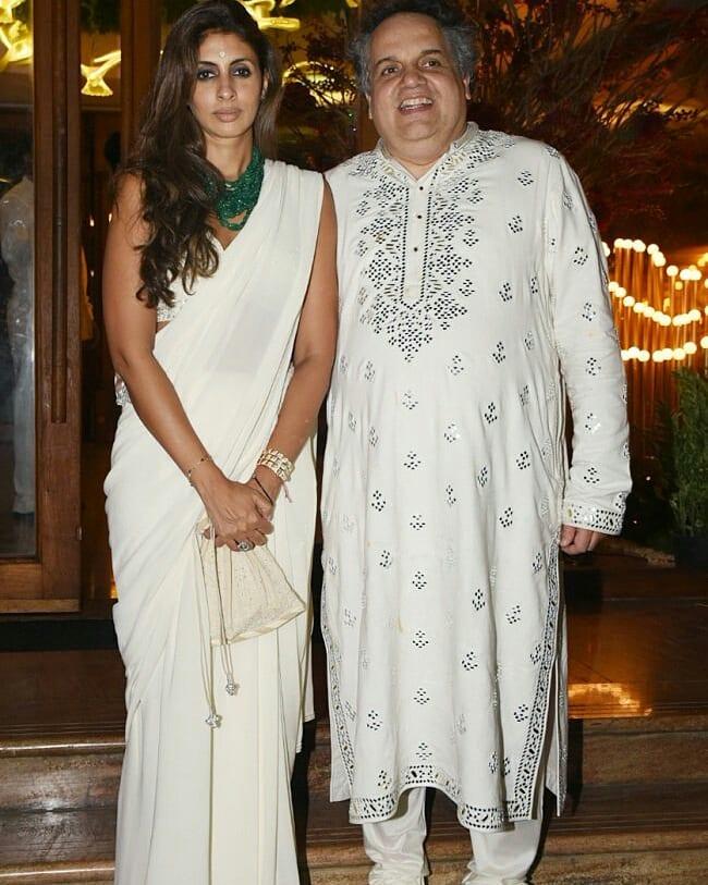 Bollywood Celebrities At Designer Sandeep Khoslas Nieces Wedding