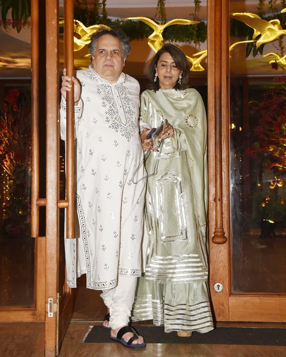 celebrity wedding, abu jani Sandeep khosla, saudamini mattu reception, Neetu Singh, Neetu Kapoor