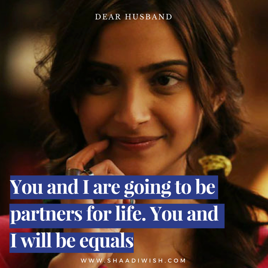 dear future husband, sonam kapoor