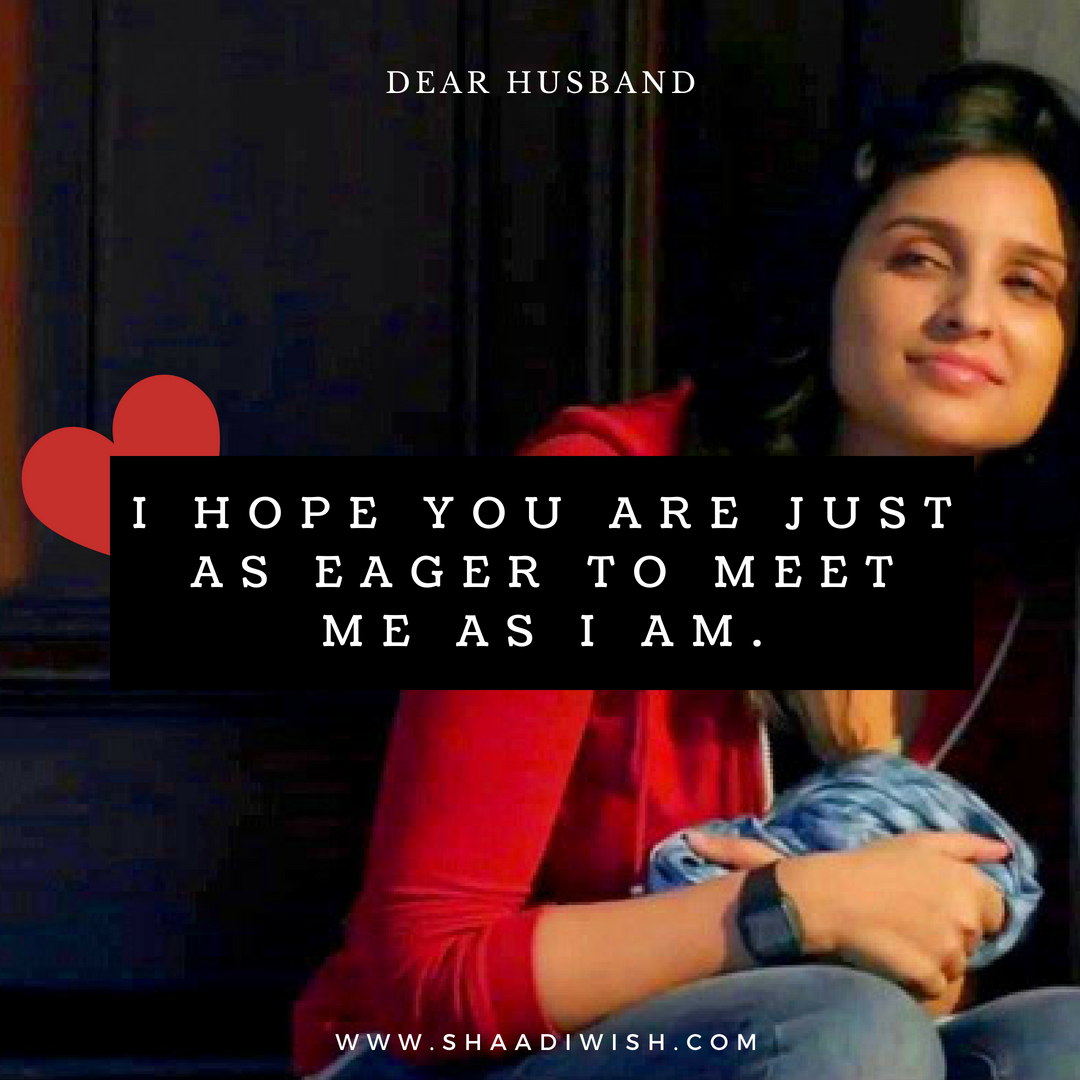 dear future husband, parineeti chopra