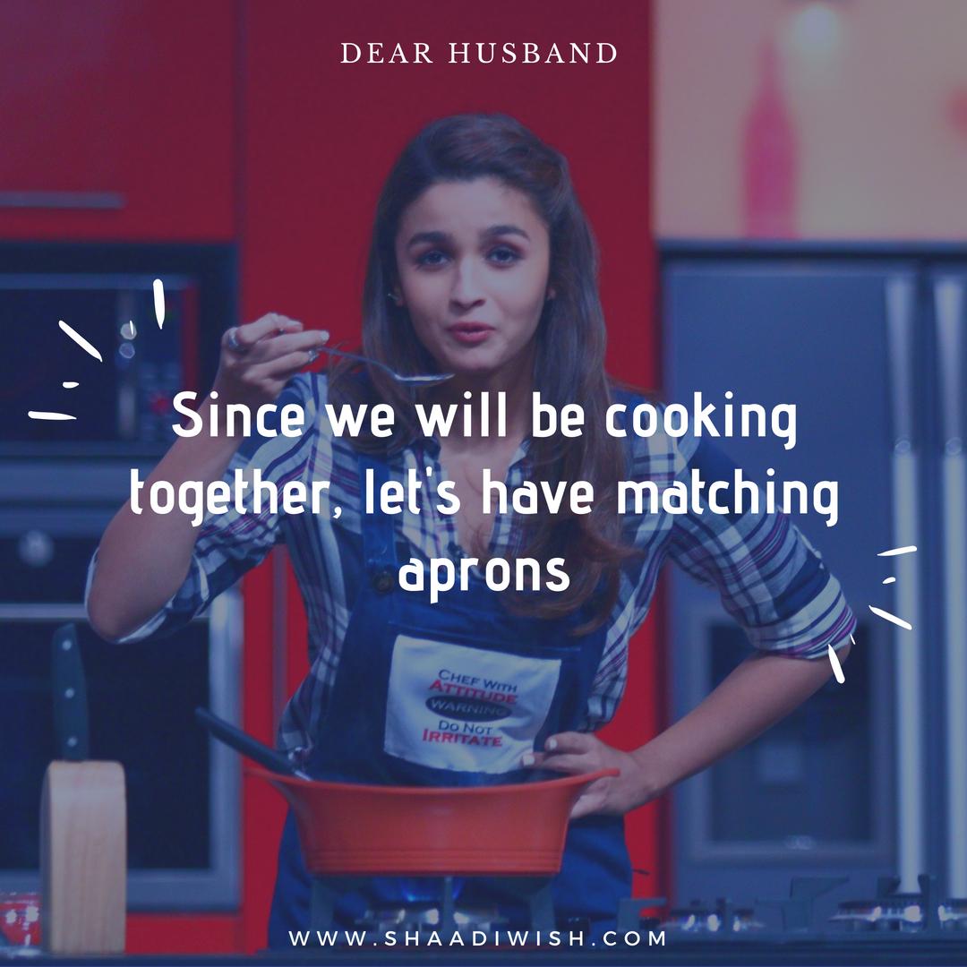 dear future husband, alia bhatt, farah ki daawat