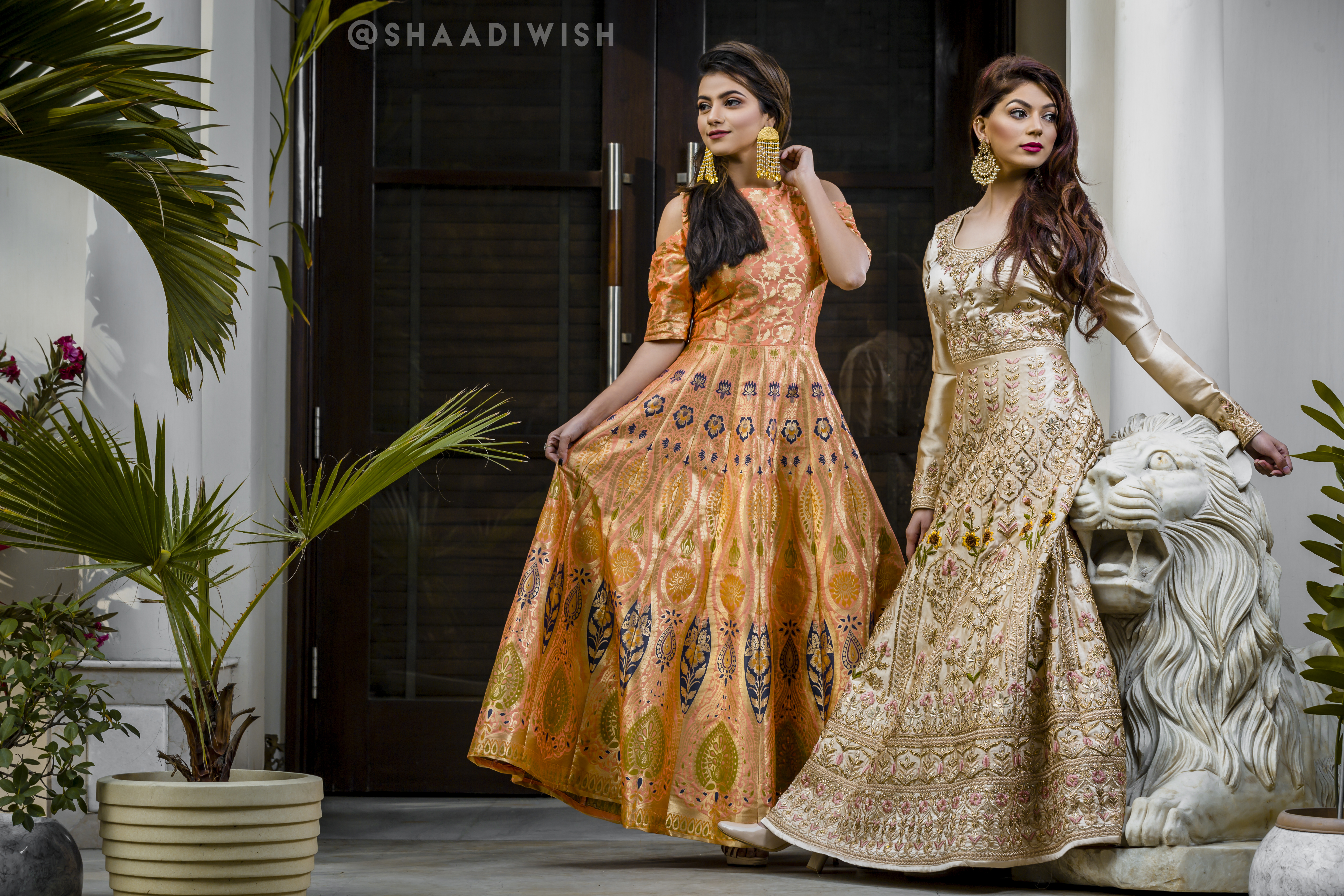 wedding outfit, bridal collection, trousseau