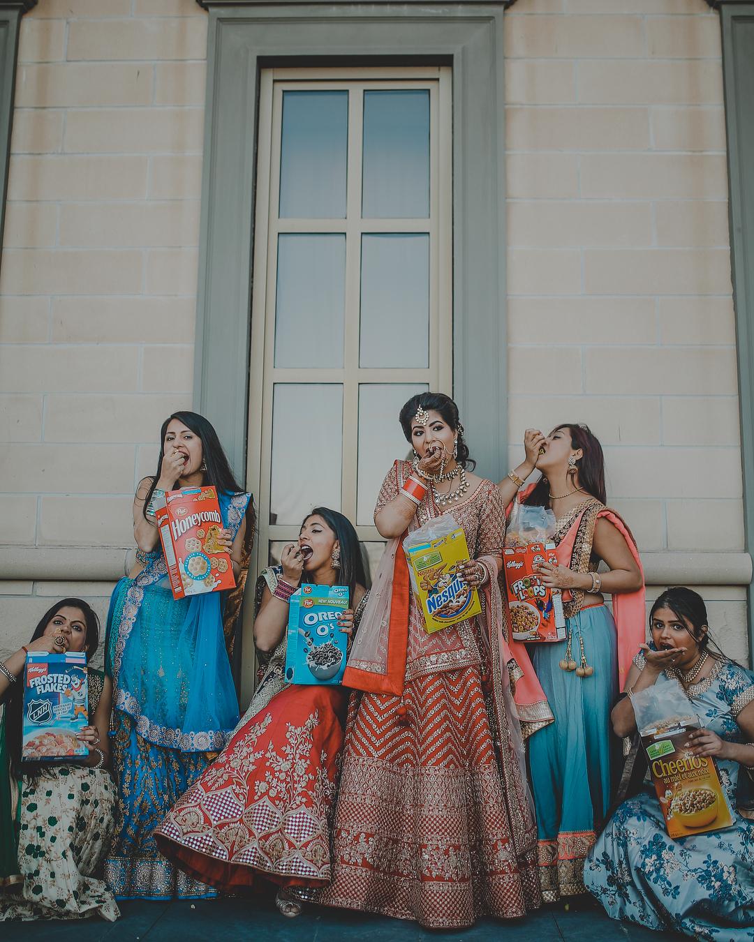 bridesmaids photoshoot, bridesmaid photography, bride sister