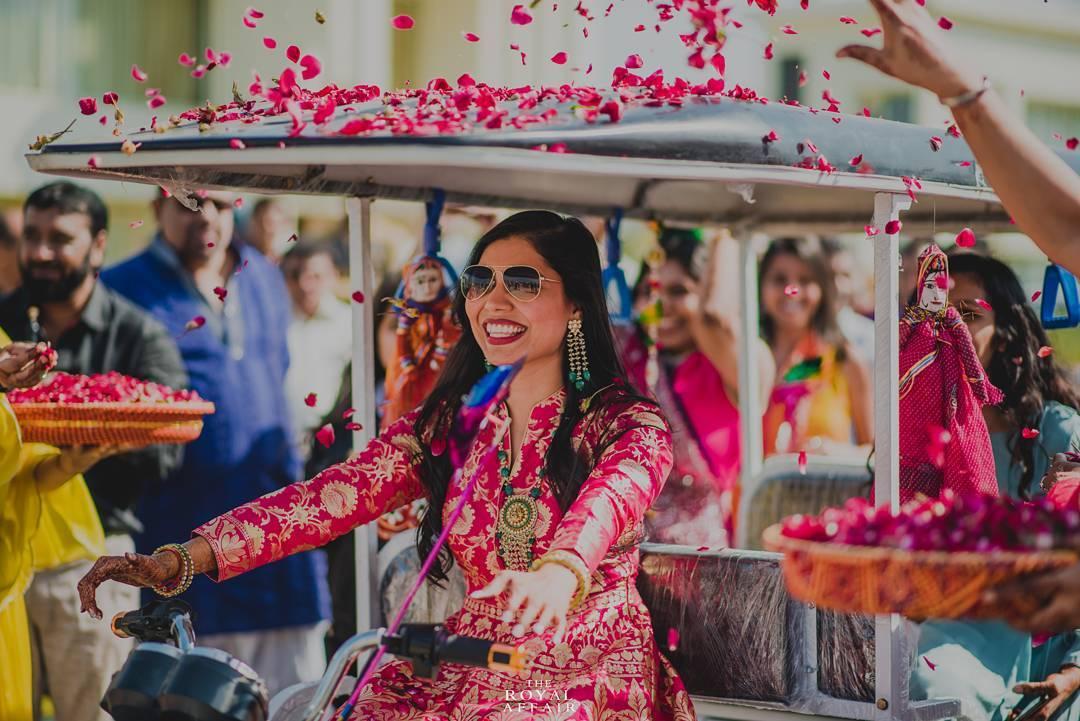 bride entry, bride entry ideas, candid wedding photography