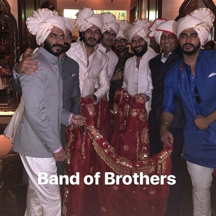 Sonam Kapoor wedding, Brothers of the Bride, harshvardhan Kapoor, Arjun Kapoor, akshay marwah, mohit marwah, kunal rawal
