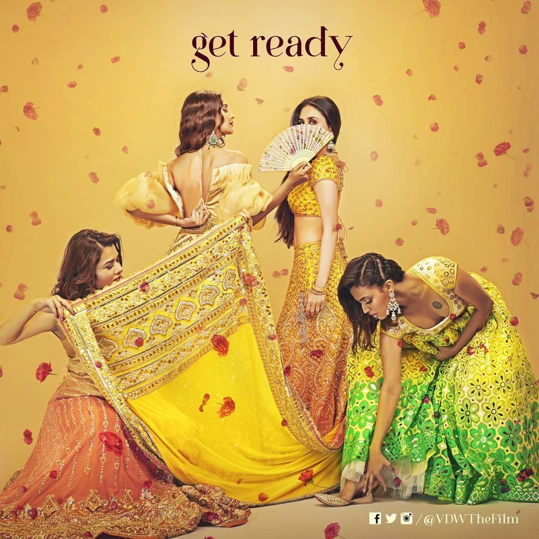 Veere Di Wedding, Wedding Inspiration, Bollywood Inspiration, Veere Di Wedding Inspiration