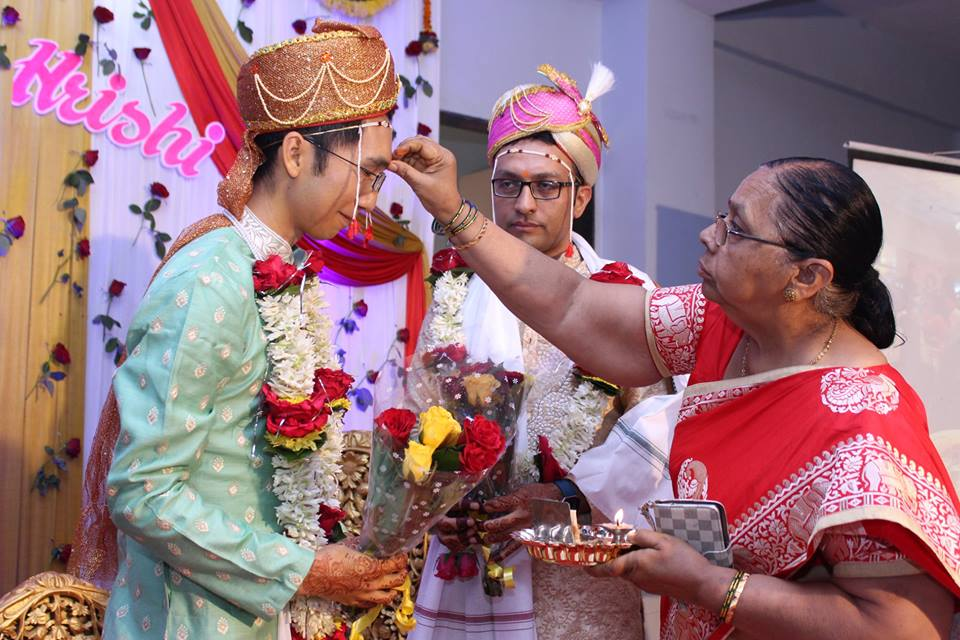 same-sex wedding, pride month, hrishi and vinh