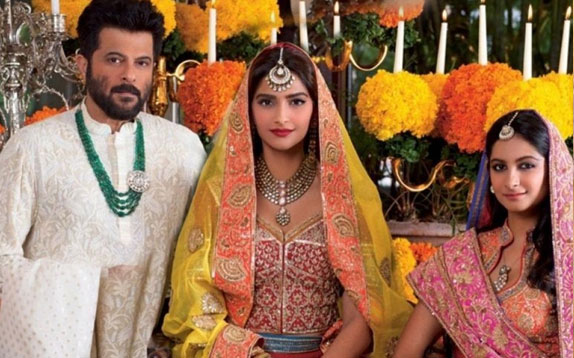 father of the bride, anil kapoor, sonam kapoor, rhea kapoor