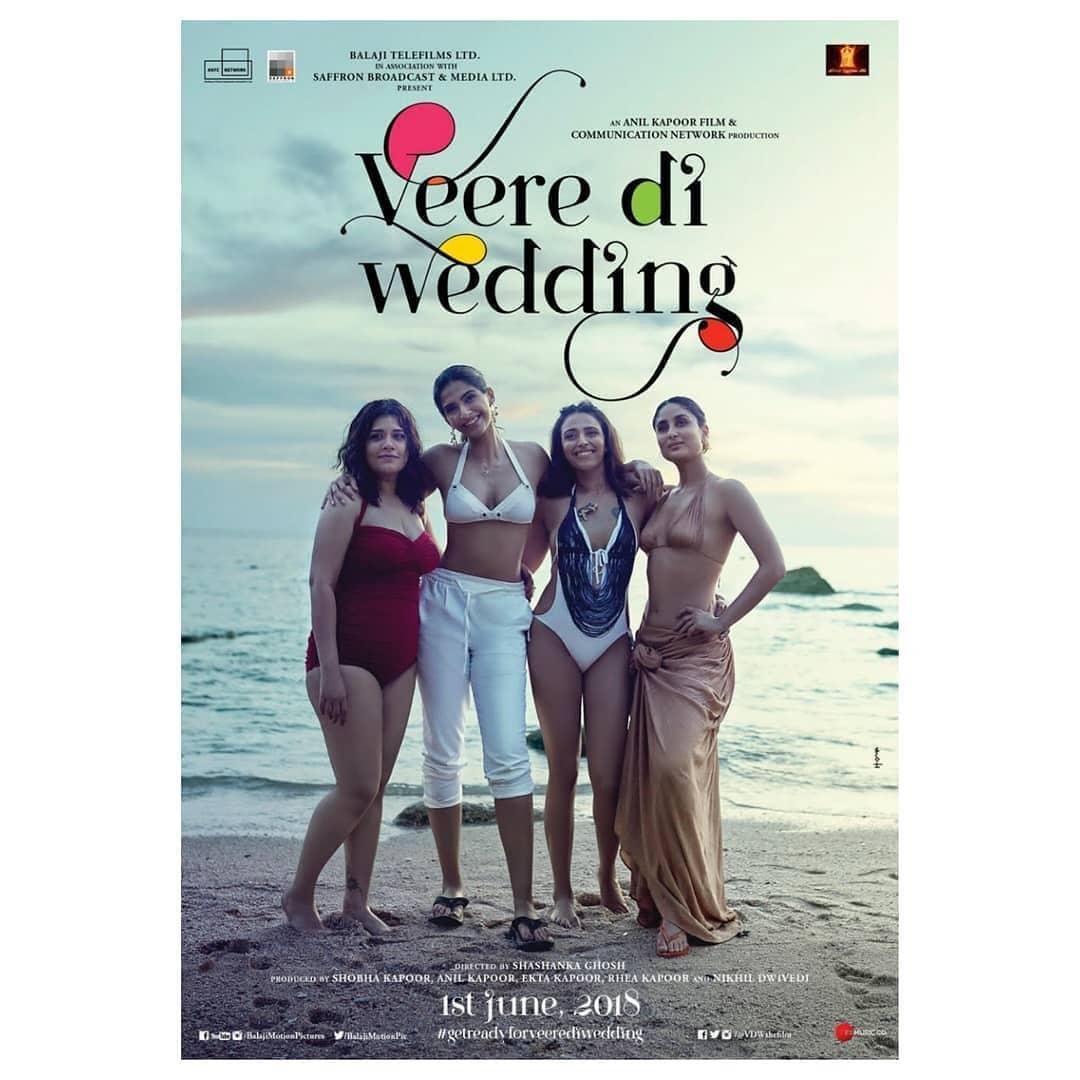 Veere Di Wedding, Wedding Inspiration, Bollywood Inspiration, Veere Di Wedding Inspiration, Bachelorette