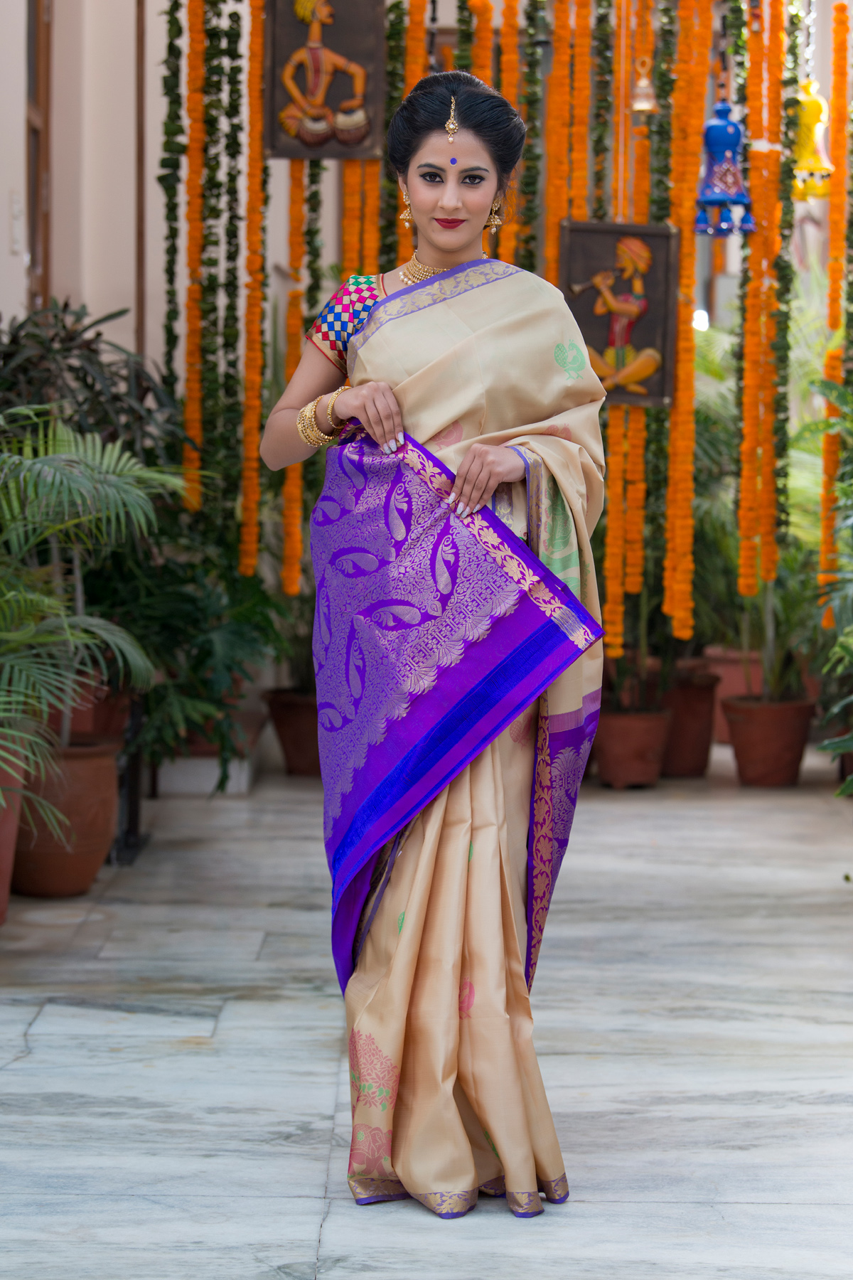 bharat sthali sarees, south indian sarees, mysore silk sarees