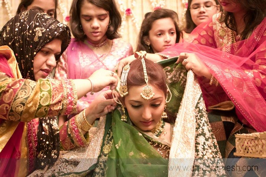muslim brides, sanchaq ritual