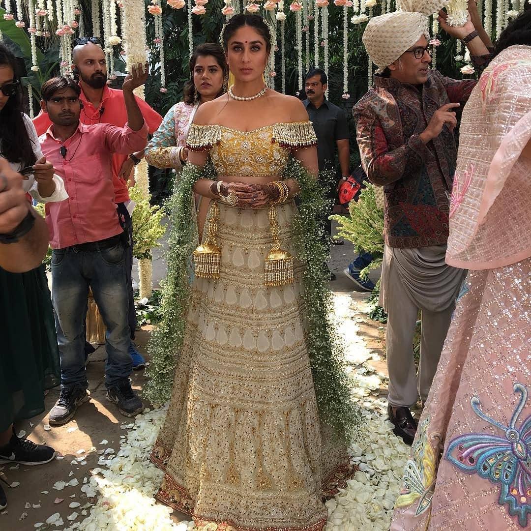 Veere Di Wedding, Wedding Inspiration, Bollywood Inspiration, Veere Di Wedding Inspiration, Bridal Dupatta