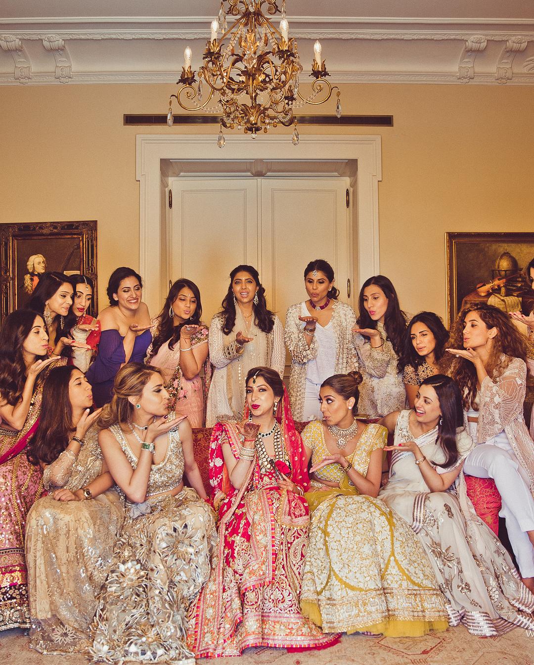 nri wedding, tanya ganwani rajiv verma wedding