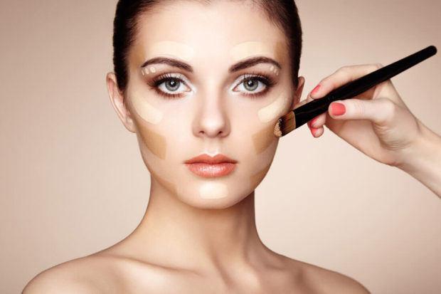 bridal makeup class, niti luthra, foundation