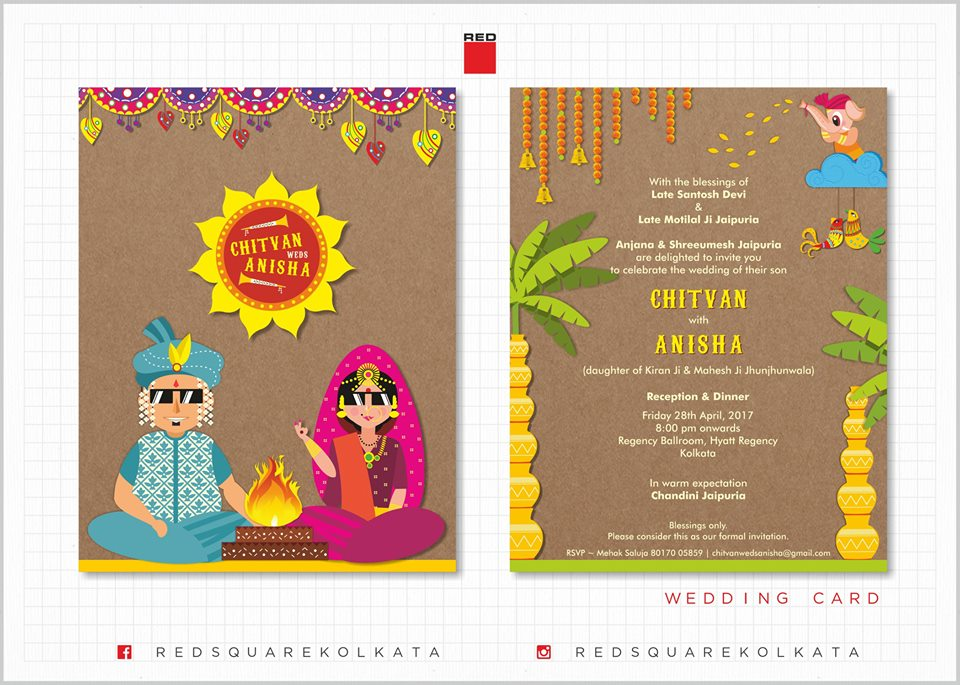 21 Offbeat Wedding Invitation Designers In India For Quirky