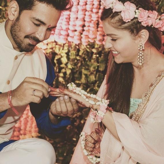 rubina dilaik, abhinav shukla, wedding pictures