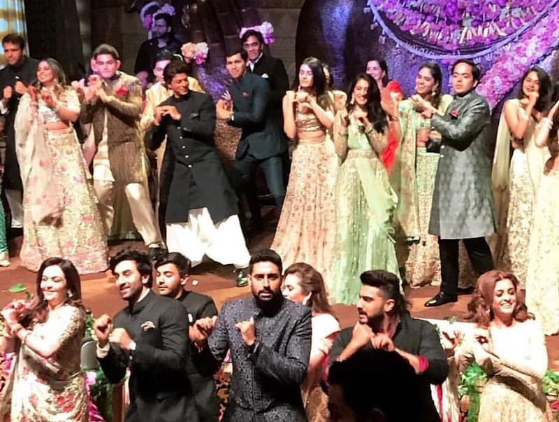 Akash Ambani Shloka Mehta engagement, Bollywood dances at Akash Ambani and Shloka Mehta's engagement, Akash Ambani and Shloka Mehta