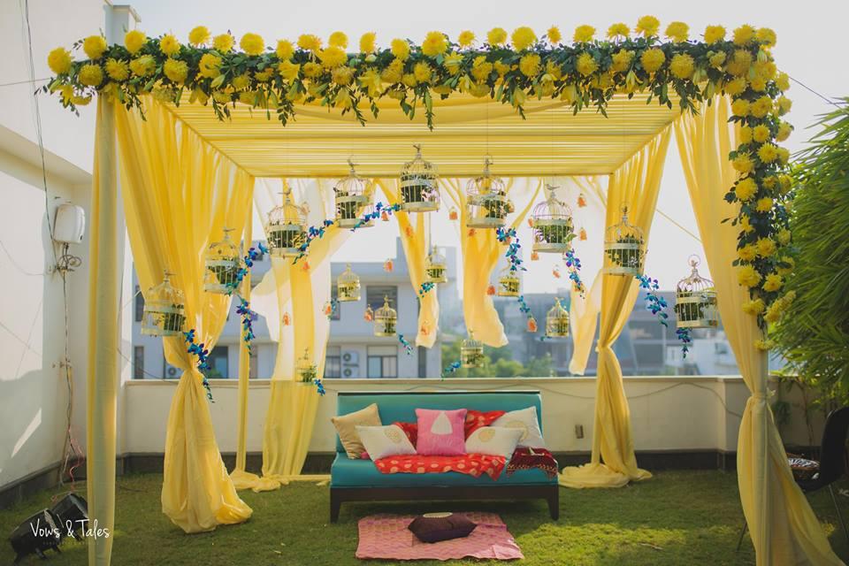 mehendi decorations, mehendi ceremony ideas, mehendi venue