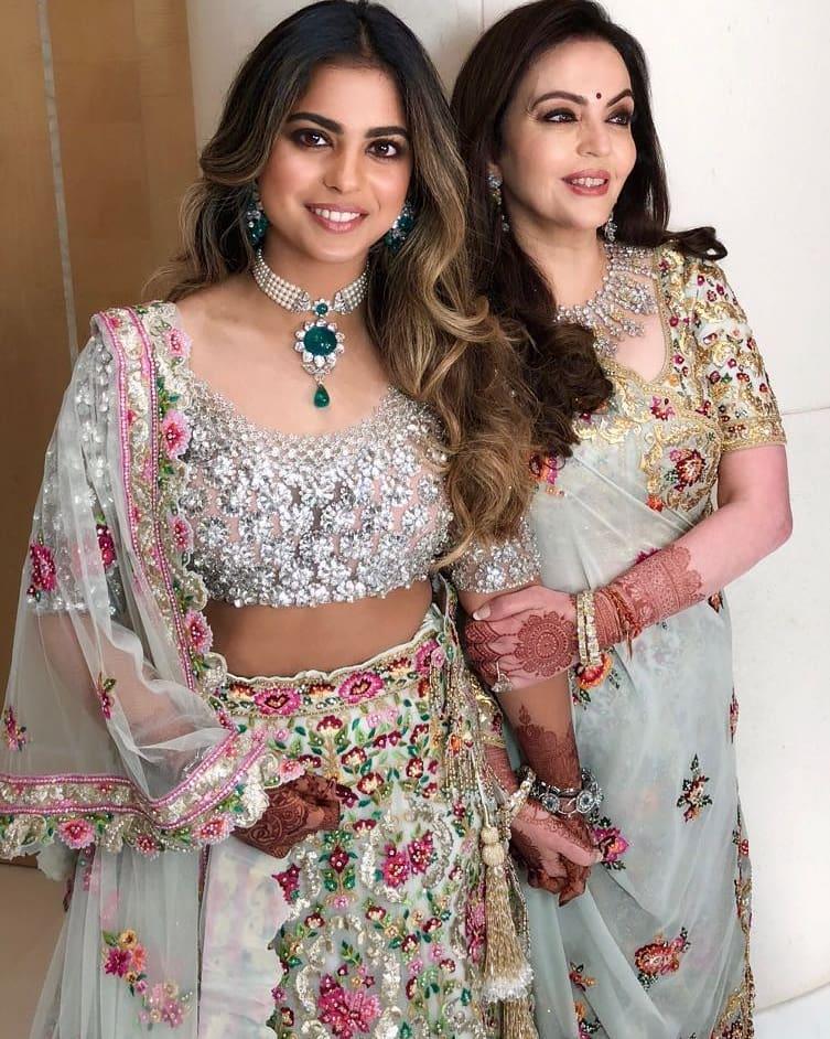Akash Ambani Shloka Mehta engagement, abu jani Sandeep khosla ambani engagement bash, akash ambani and shloka mehta