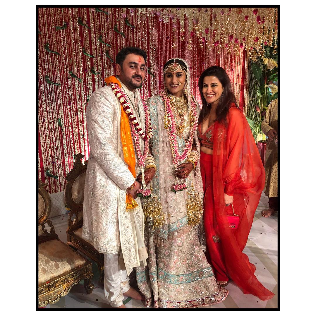 poorna patel wedding, namit soni, yasmin karachiwala, poorna patel