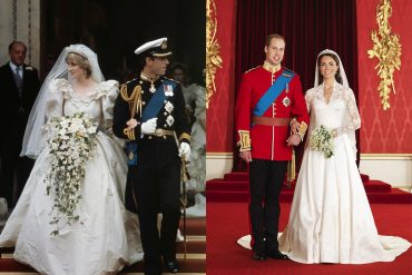 weddings then and now