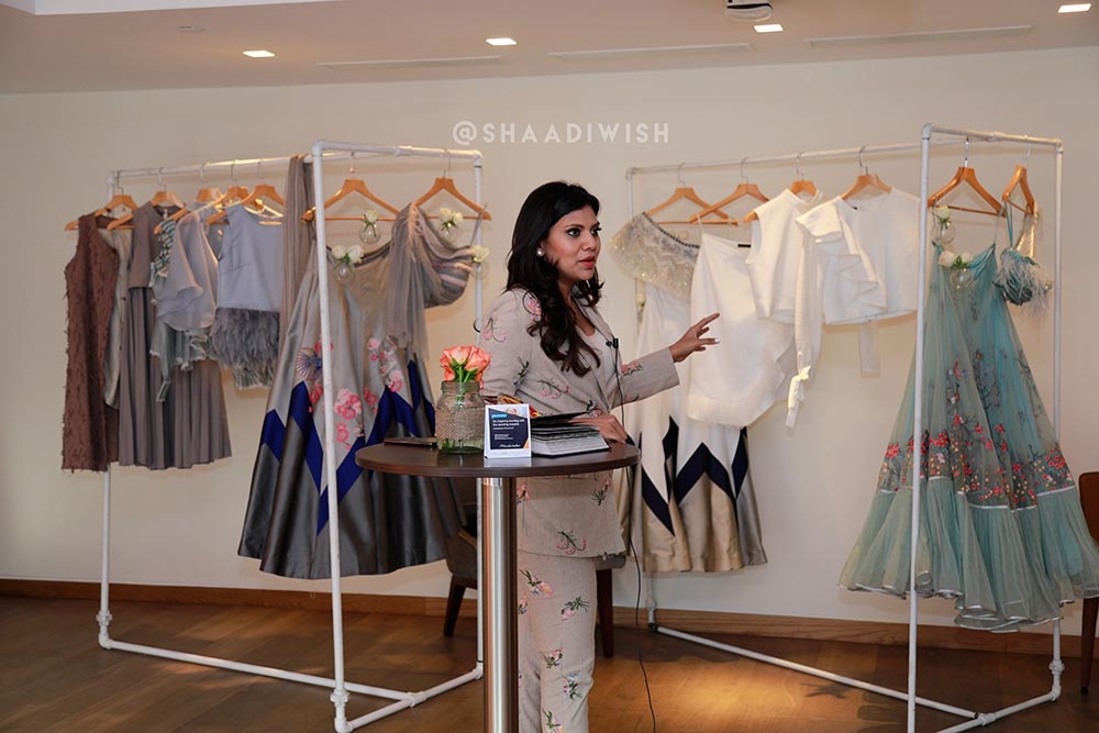 andaz salon with shaadiwish, aditi gupta couture