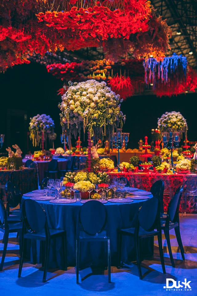 decor, food, monsoon wedding