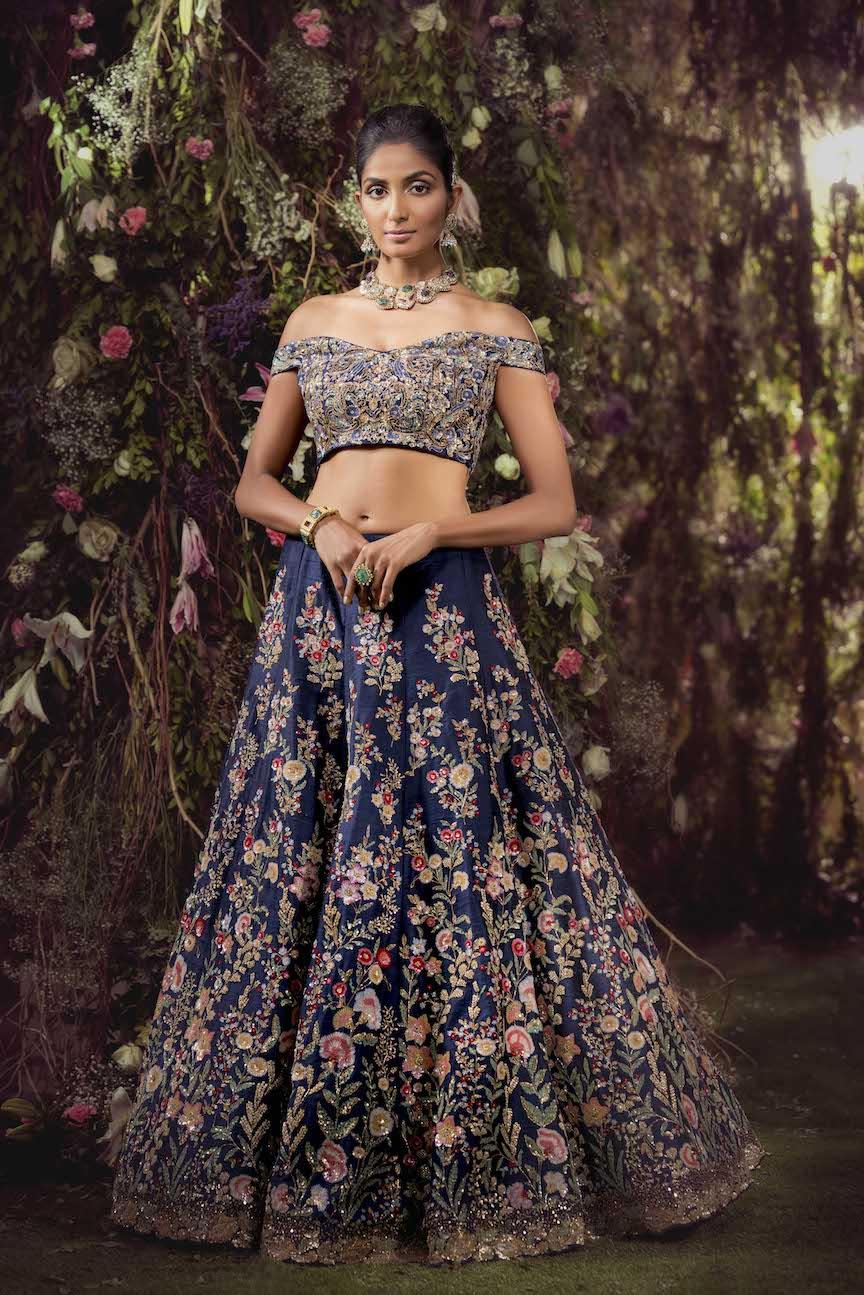 vogue wedding show 2018, shyamal bhumika, bridal collection