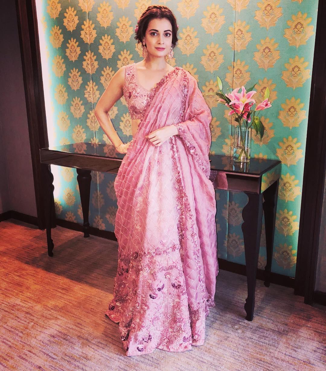 Lakme Fashion Week, Dia Mirza, Sammohi Designs