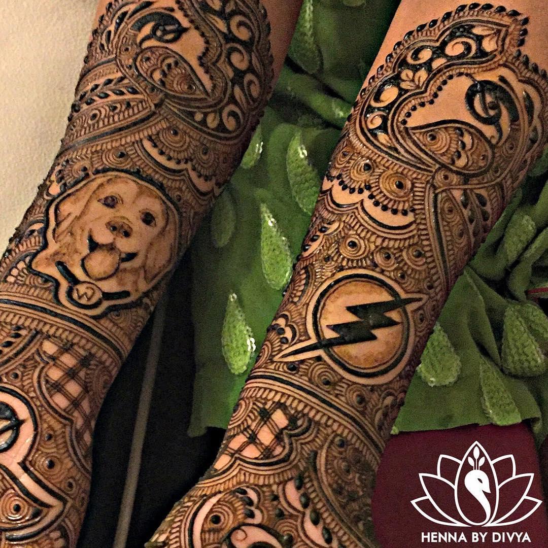 unique mehendi designs, beautiful bridal mehendi, bridal mehendi artist Henna by Divya