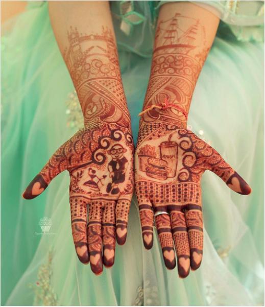 unique mehendi designs, beautiful bridal mehendi, wedding photographer, cupcake productions