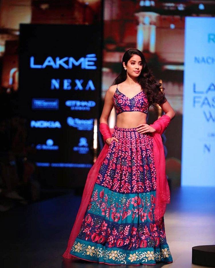 Lakme Fashion Week, Janhvi Kapoor, Nachiket Barve