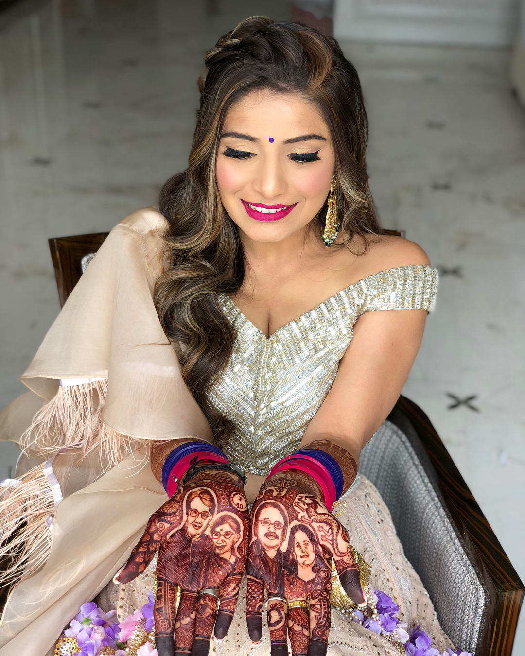 unique mehendi designs, beautiful bridal mehendi, Doll you up by S