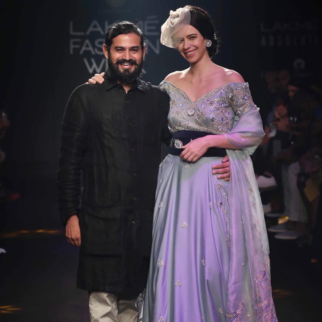 Lakme Fashion Week, kalki koechlin, Gaurav katta