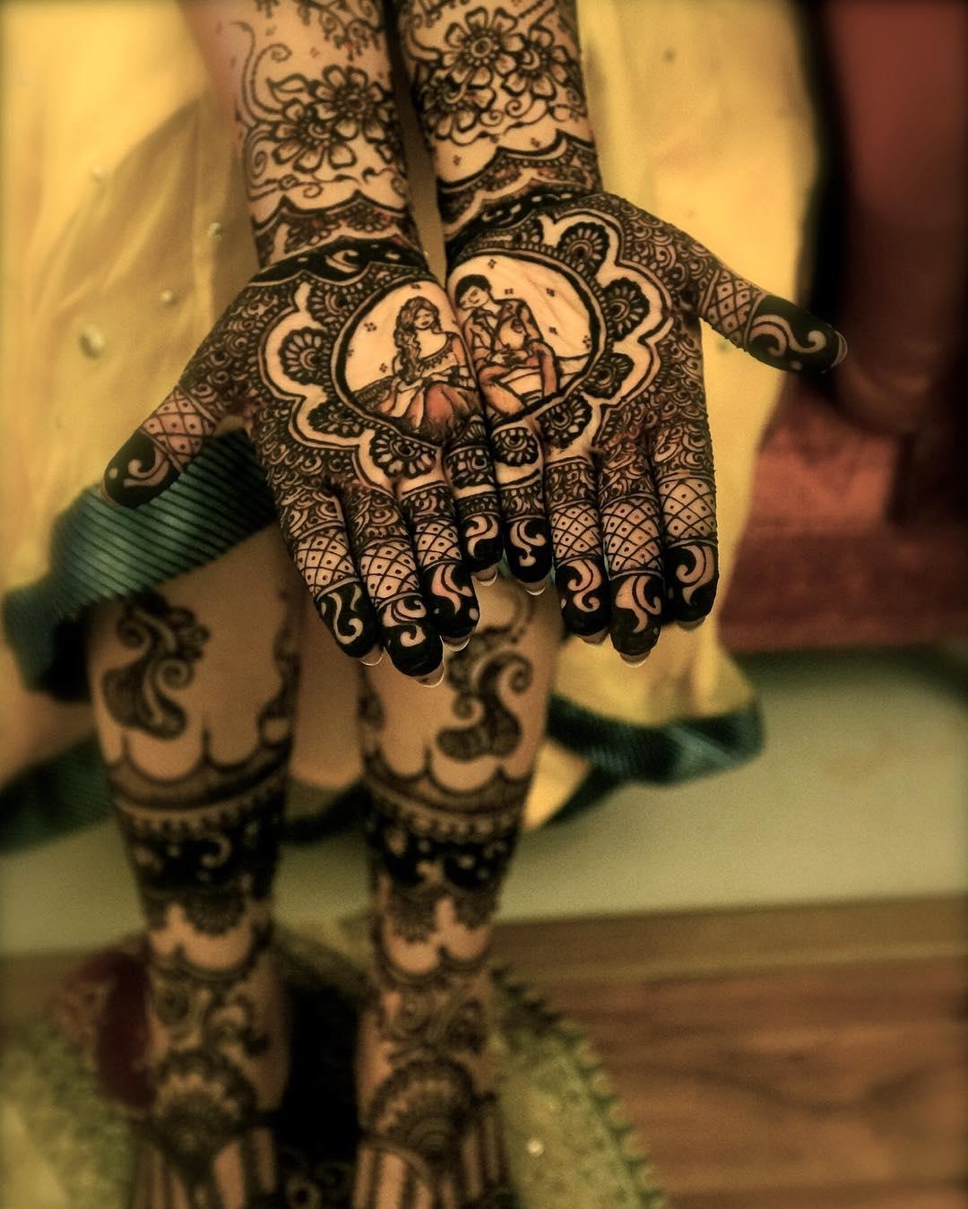 unique mehendi designs, beautiful bridal mehendi, Saras Henna