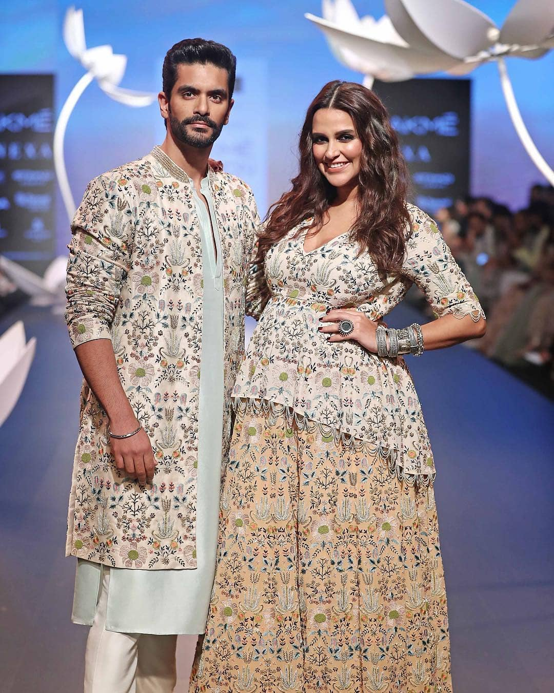 Lakme Fashion Week, angad bedi, neha dhupia, payal singhal
