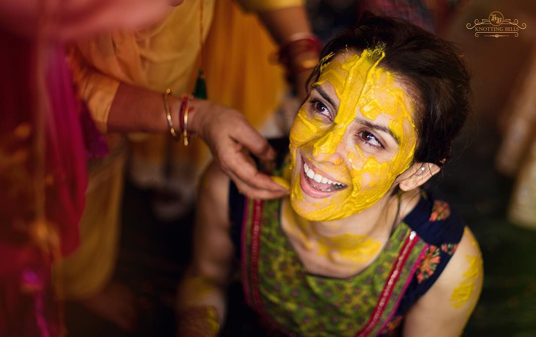 Haldi ceremony, ekta kaul wedding