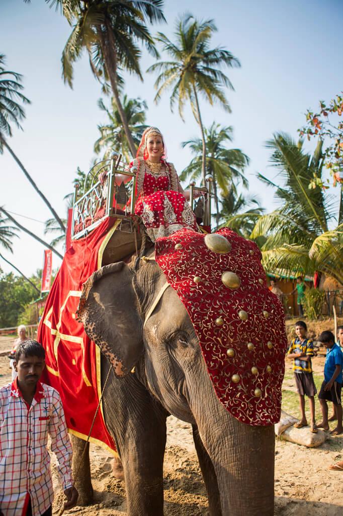 bridal entry, bride entry ideas, bride entry on elephant