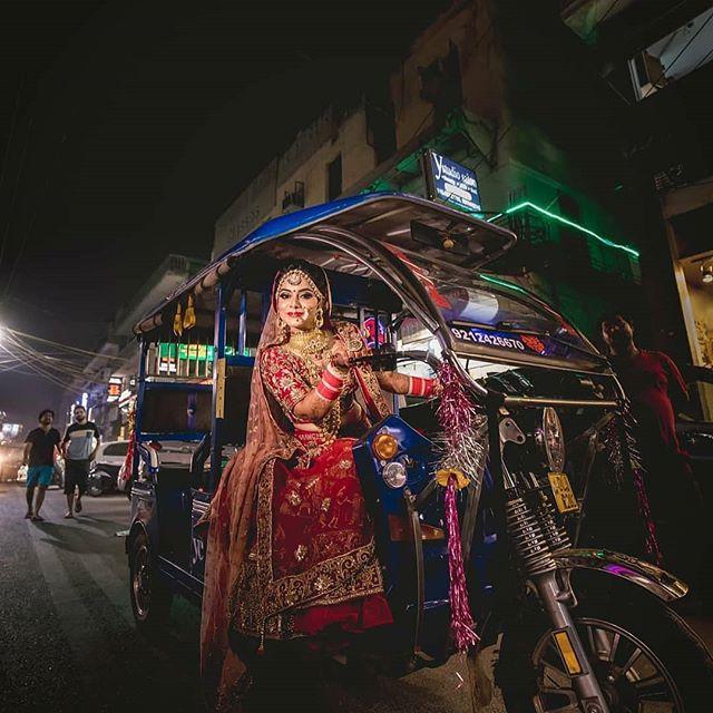 bridal entry, bride entry ideas, bride in auto