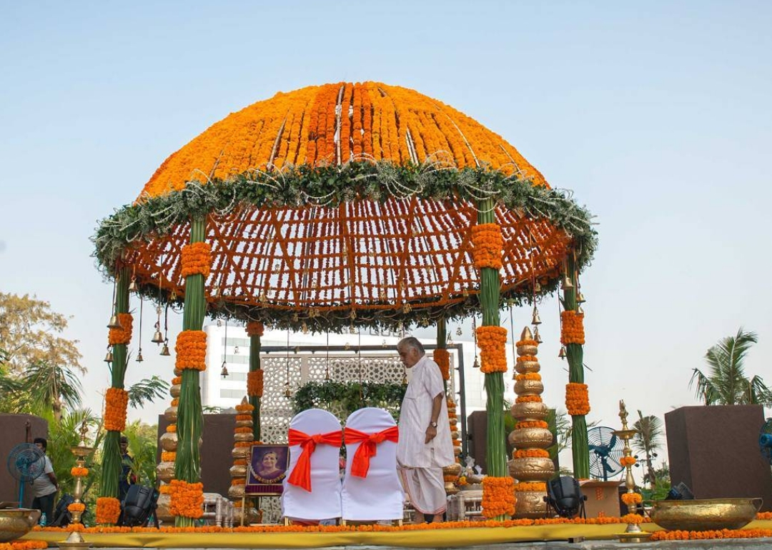Trending Mandap Decoration Ideas For The 2018 Brides Shaadiwish Com