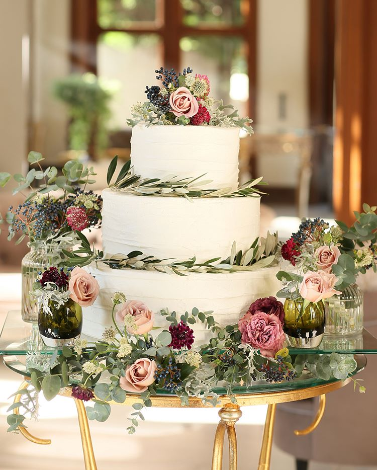 wedding cake designs 2018
